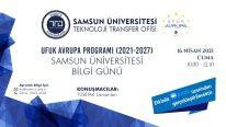 UFUK Avrupa Programı (2021-2027) Samsun Üniversitesi Bilgi Günü